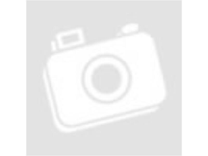 Hűtőmágnes szívecskés narancs 75x67mm